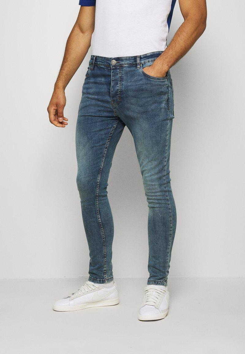 Brave Soul - MADISONCHARC - Jeans Tapered Fit - light blue
