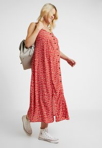 Topshop Maternity - SPLIT FRONT - Day dress - red - 2