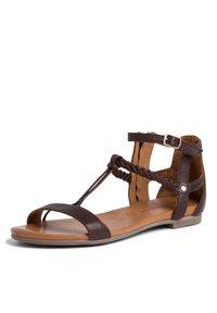 Tamaris - Ankle cuff sandals - mocca - 1