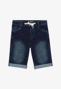 Re-Gen - TEEN BOYS BERMUDA - Farkkushortsit - dark blue - 2