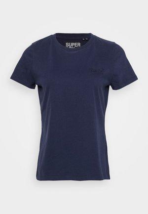 ELITE CREW TEE - Camiseta básica - rich navy