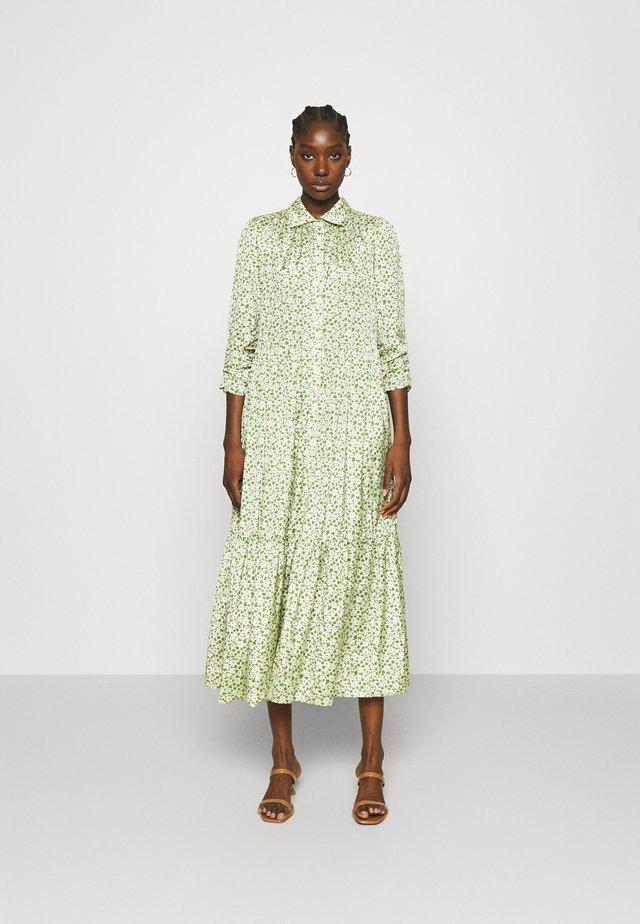 DELICATE SHIRT DRESS - Skjortekjole - green garden