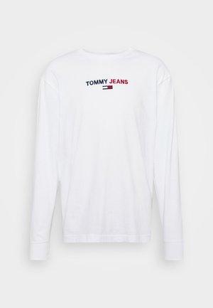 CONTRAST LINEAR  - Maglietta a manica lunga - white
