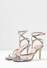 Dune London - MIGHTEYS - Sandály na vysokém podpatku - silver - 4