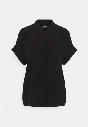 EASY FIT - Button-down blouse - deep black