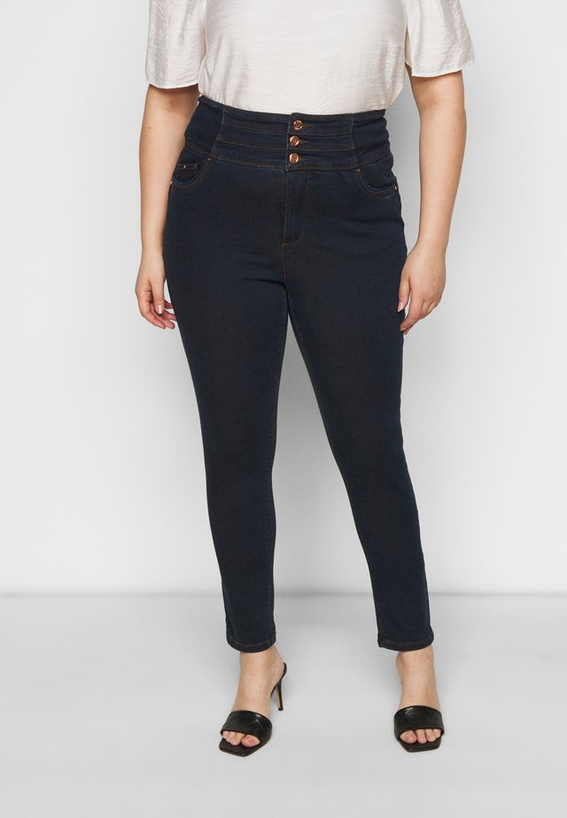SHAPE SCULPT SUPER HIGH WAIST  - Jeans Skinny Fit - dark indigo
