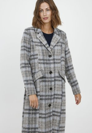 FRBAWOOLY 2 COAT - Winterjas - grey