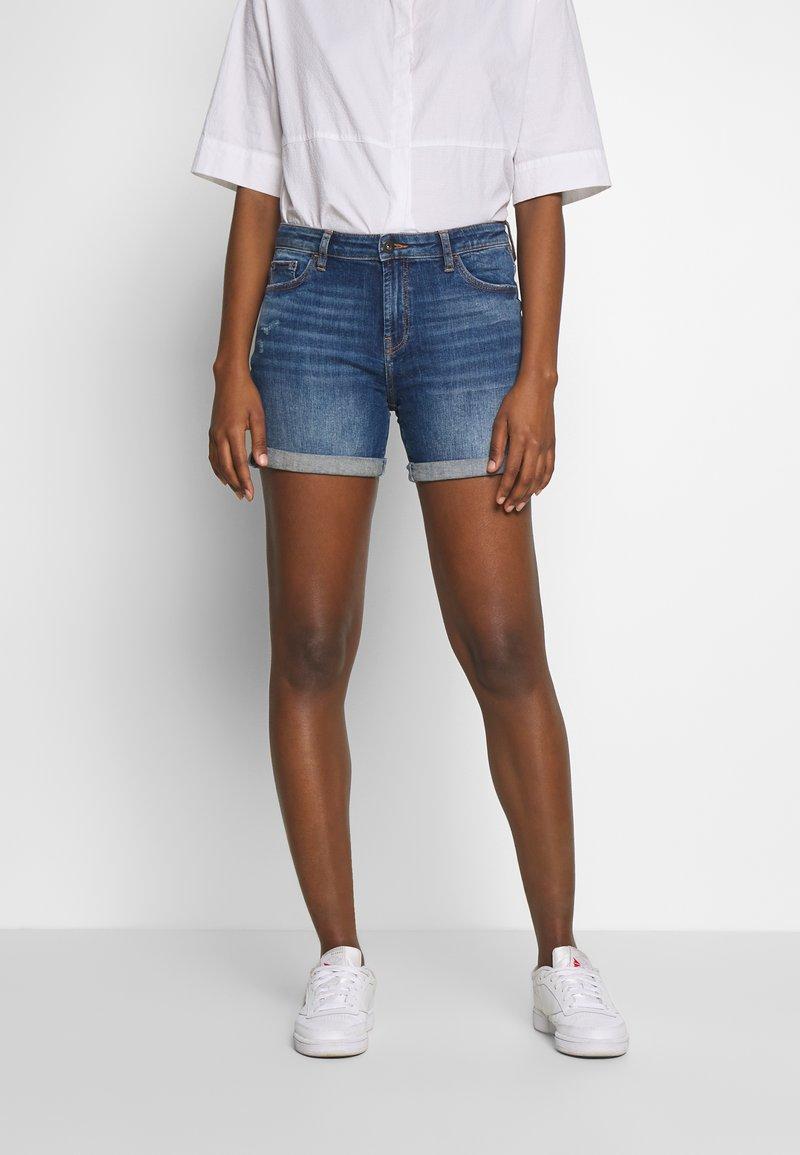 edc by Esprit - Denim shorts - blue medium wash