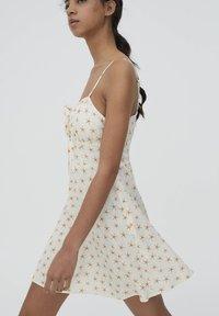 PULL&BEAR - Day dress - beige - 4