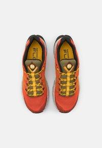 Merrell - MOAB FLIGHT - Trail running shoes - tangerine - 3