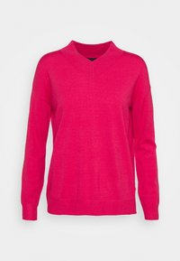 Marks & Spencer London - HIGH VEE - Jersey de punto - pink - 0