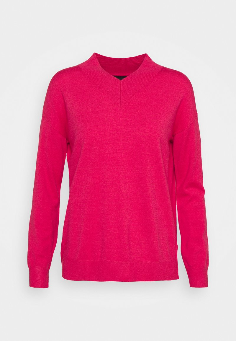 Marks & Spencer London - HIGH VEE - Jersey de punto - pink