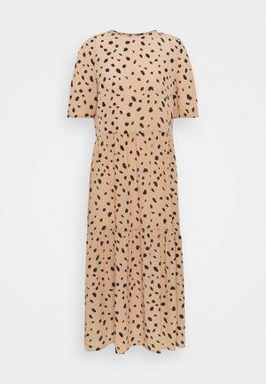 VMMEGGA O NECK CALF DRESS - Day dress - brush