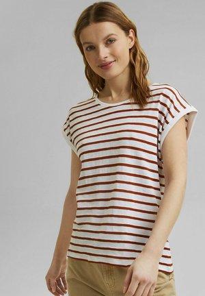T-shirt print - caramel