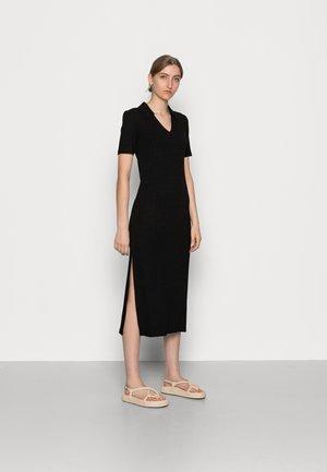 REGINE LONG DRESS - Jersey dress - black