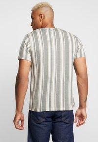 Topman - STRIPE SNIT - T-shirt con stampa - multicolored - 2