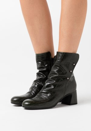 Classic ankle boots - kovi olive