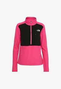 The North Face - WOMENS BLOCKED - Fleece jumper - pink/black - 4