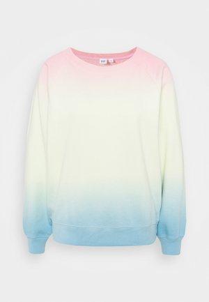 RAGLAN - Sweatshirt - classic ombre pink