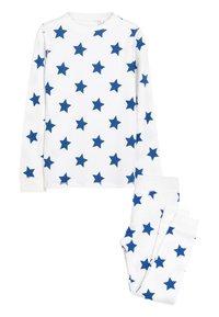 Next - BLUE STAR PRINTED SNUGGLE THERMAL SET (1.5-16YRS) - Pyjama set - white - 0