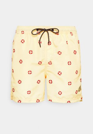 JJIBALI JJSWIMSHORTS SAILOR - Swimming shorts - pale banana