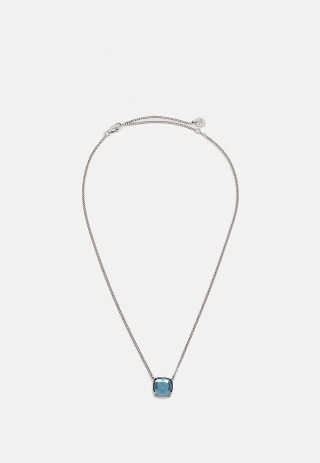 MANNY NECKLACE - Collana - blue/silver-coloured