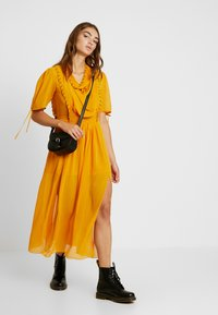 Topshop - EYETLET DETAIL COWL MIDI - Day dress - colour - 2