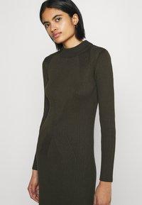 G-Star - PLATED LYNN DRESS MOCK - Shift dress - algae - 3
