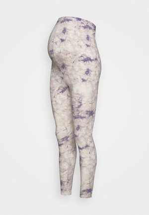 TIE DYE - Leggings - Trousers - lilac