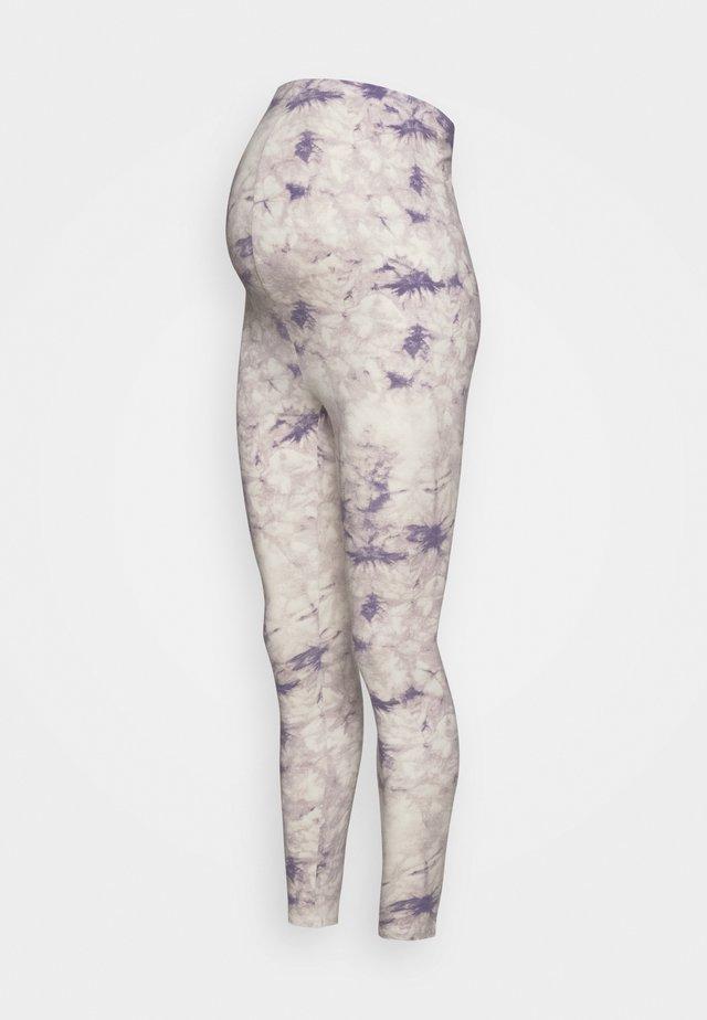 TIE DYE - Leggings - lilac