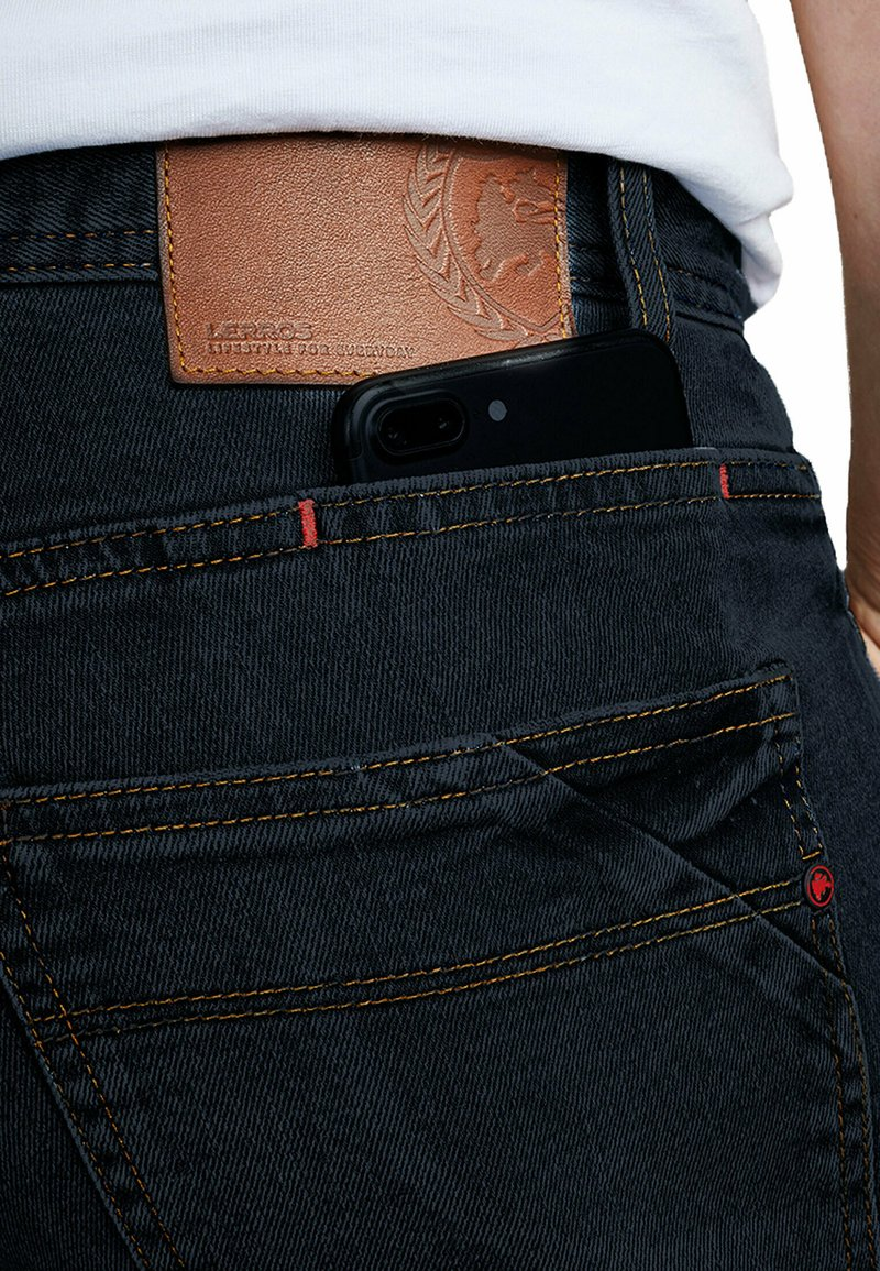 LERROS - ARUN - Relaxed fit jeans - dark water