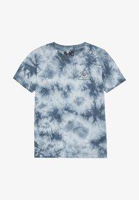 Cotton On - THE UPSIDE SHORT SLEEVE TEE - Print T-shirt - white/blue - 2