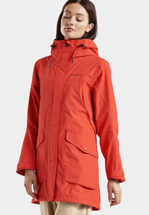 Parka - poppy red
