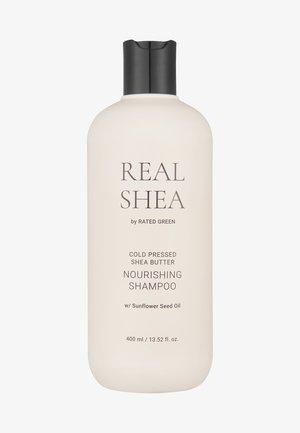 REAL SHEA BUTTER NOURISHING SHAMPOO - Shampoing - -