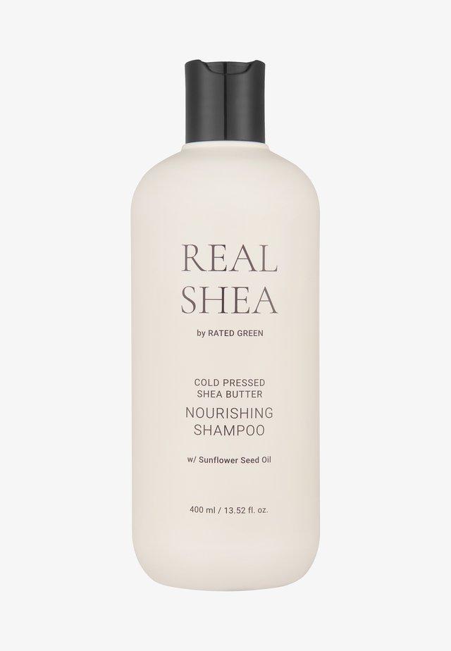 REAL SHEA BUTTER NOURISHING SHAMPOO - Schampo - -