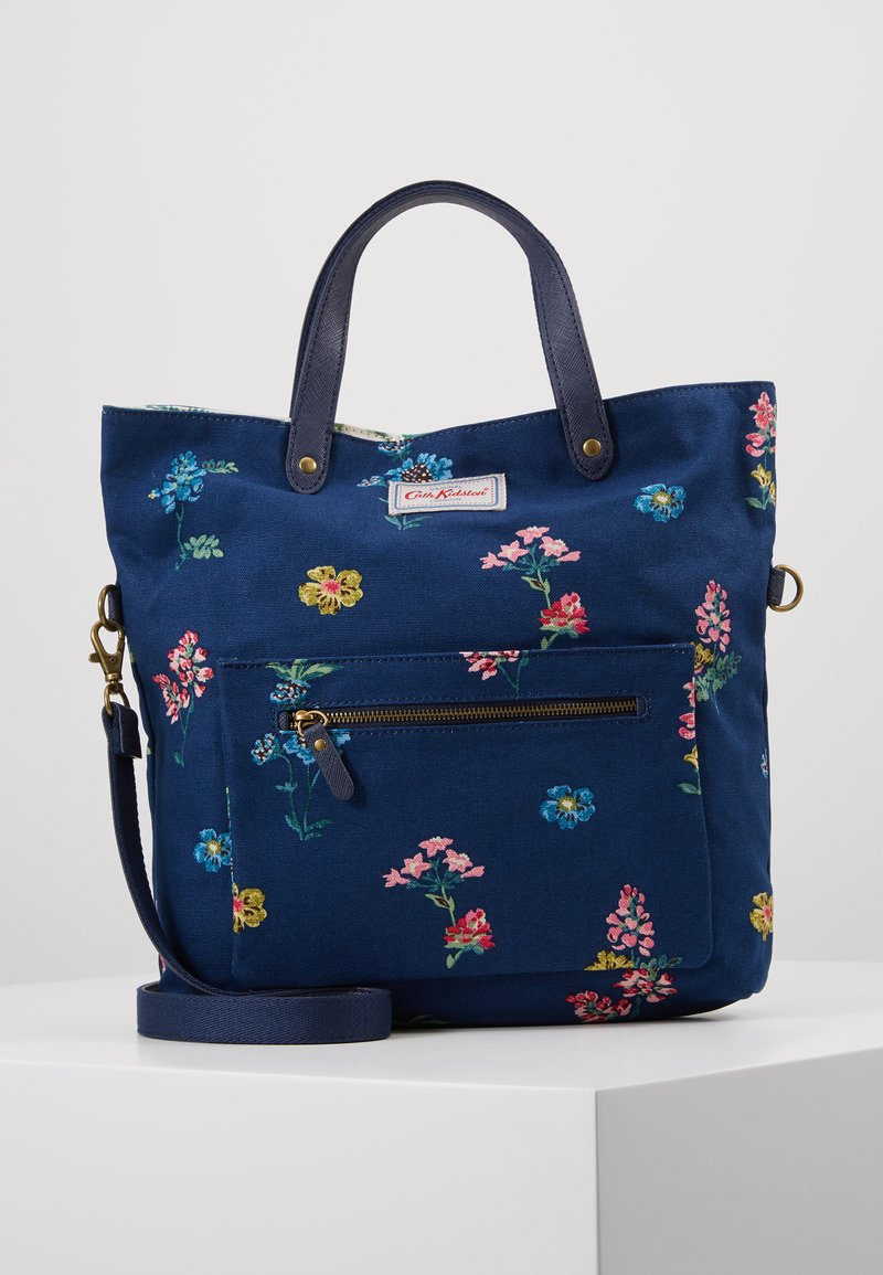 Cath Kidston - REVERSIBLE CROSS BODY - Across body bag - navy