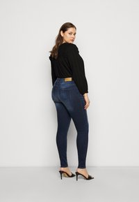 Noisy May Curve - NMLUCY  - Jeans Skinny Fit - dark-blue denim - 2
