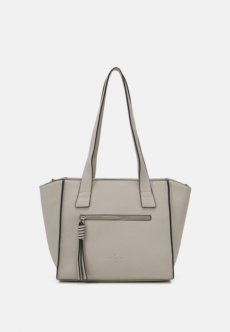 TOM TAILOR - KATHARINA - Tote bag - light grey