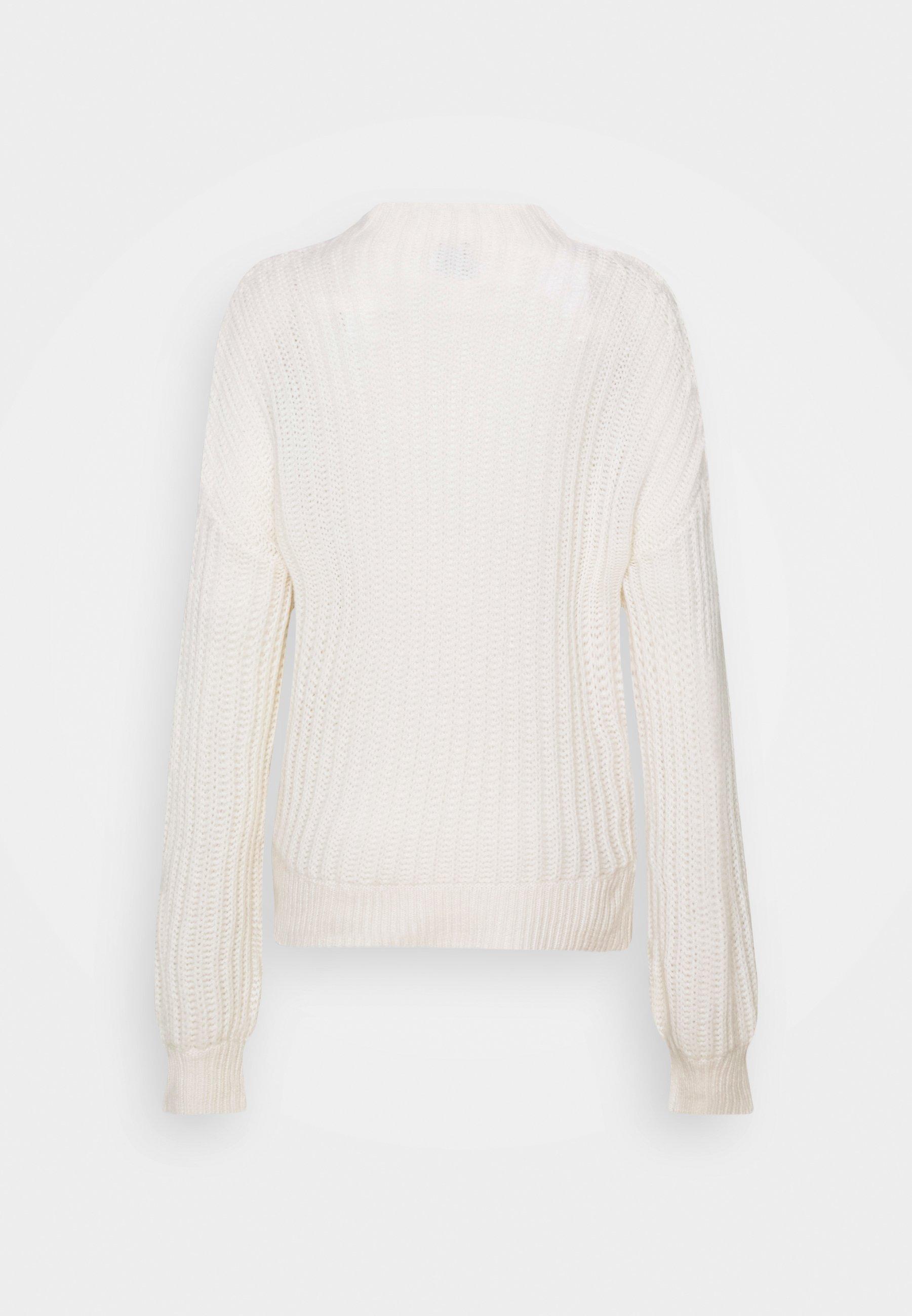 FTC Cashmere Strikkegenser - pristine white