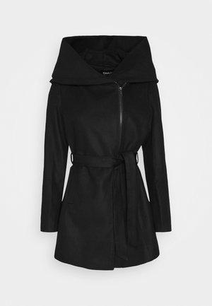 ONLCANE COAT - Kort kåpe / frakk - black