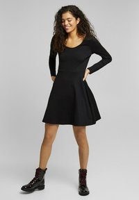 edc by Esprit - PUNTI  - Day dress - black - 3