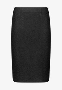 Gerry Weber - KURZ AUS WOLLE - Pleated skirt - schwarz - 3