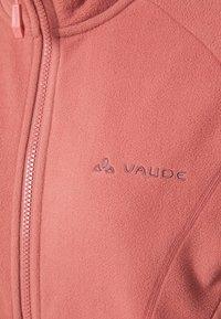 Vaude - WOMENS ROSEMOOR JACKET - Fleece jacket - dusty rose - 2