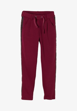 Tracksuit bottoms - blackberry