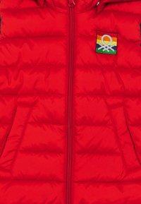 Benetton - WAISTCOAT - Waistcoat - red - 3