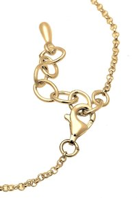 Elli - Kreis Plate - Necklace - gold-coloured - 3