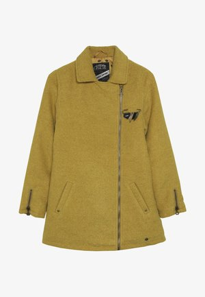 COAT - Krátký kabát - mustard