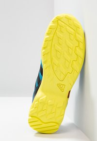 adidas Performance - TERREX AX2R - Hiking shoes - shock cyan/clear black/shock yellow - 5