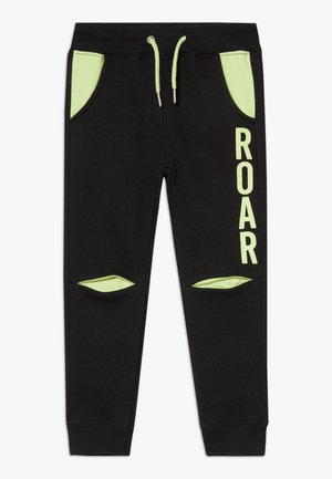 KIDS ROAR DINOSAUR  - Tracksuit bottoms - schwarz original