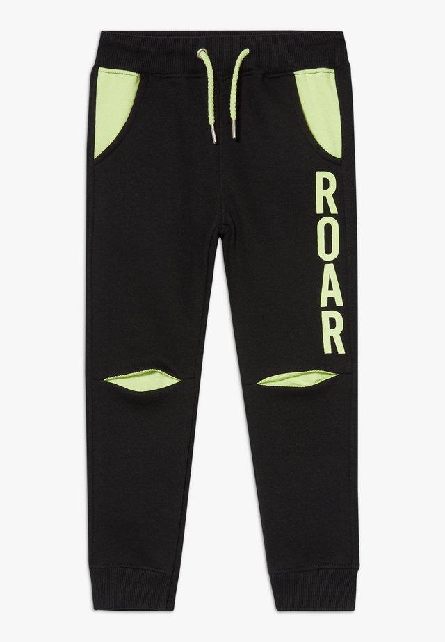 KIDS ROAR DINOSAUR  - Teplákové kalhoty - schwarz original